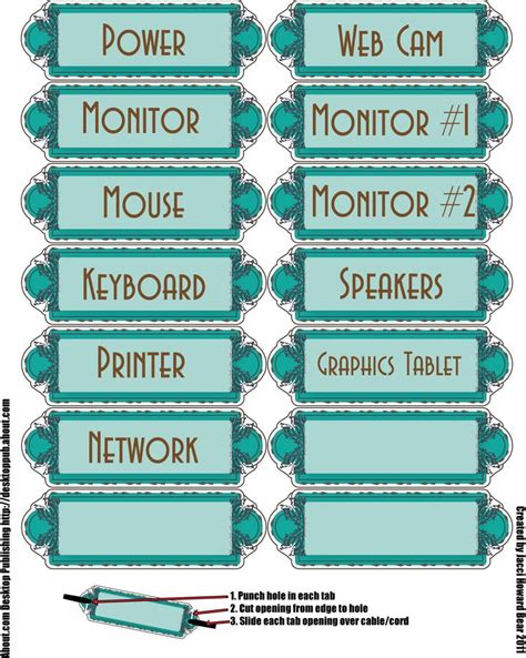 17 Best Images About Printable Labels On Pinterest Classroom Labels Bin Labels And Labels Free Computer Labels Template