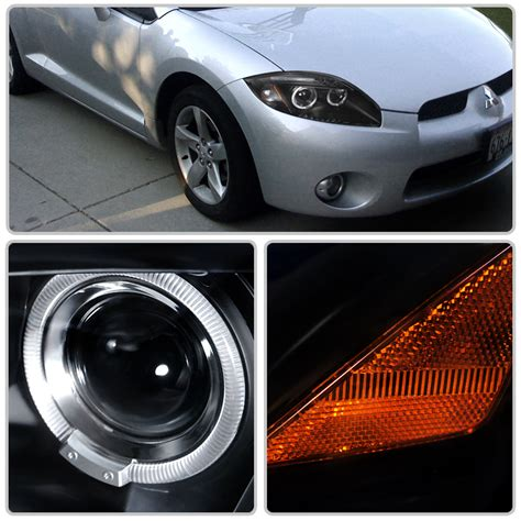 Mitsubishi Eclipse Lights by Hid Xenon 06 11 Mitsubishi Eclipse Eye Halo Led