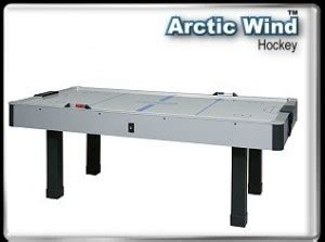 arctic wind air hockey table arctic wind homearcades