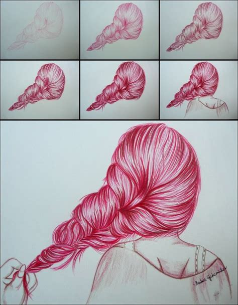 step by step hairstyles to draw best 25 drawing hair ideas on pinterest how to draw