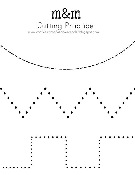 free printable cutting worksheets for preschool cutting practice and so many other free printables for