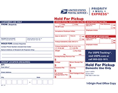 How Will The Post Office Hold A Package by Priority Mail Express Hold For Label