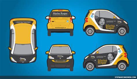Garage Doors Design Ideas vehicle wrap smart car stef marcinkowski