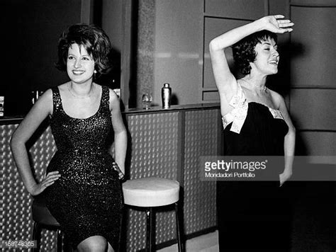 caterina valente mina mina mazzini singer stock photos and pictures getty images