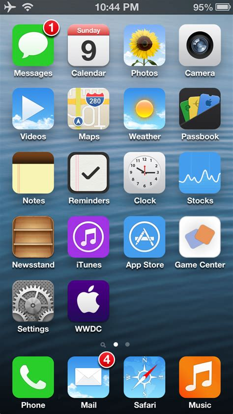 theme iphone ios 6 cydia ios 7 flat icons by willviennet on deviantart