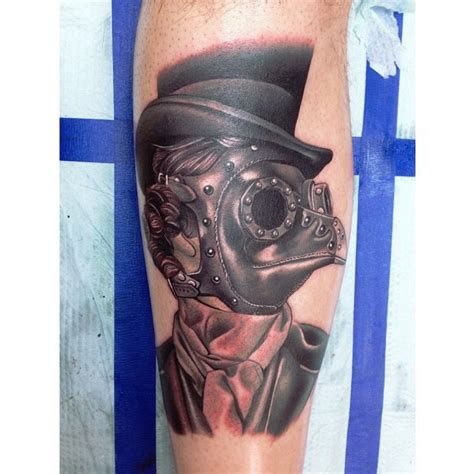 plague doctor by roy uno from red diamond tattoo aiea