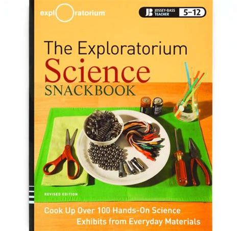 Exploratorium Gift Card - the exploratorium science snackbook cook up over 100 hands on science