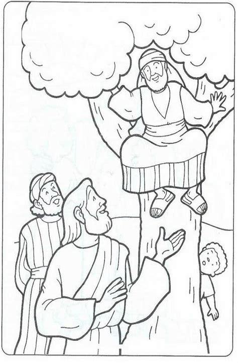 imagenes de jesus para colorear infantiles el renuevo de jehova zaqueo imagenes para colorear