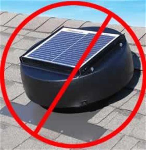 Amazing Attic Fans Good Or Bad 3 Solar Attic Vent Fan
