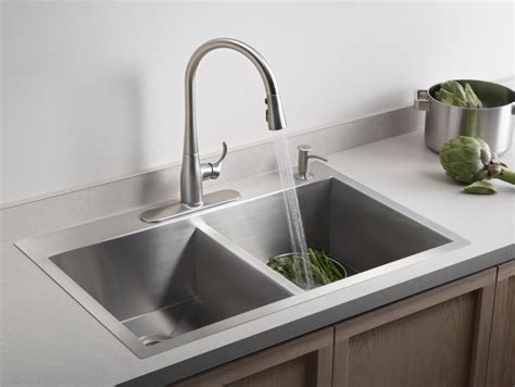 One Hole Kitchen Faucets by Kitchen Sink Styles And Trends Hgtv
