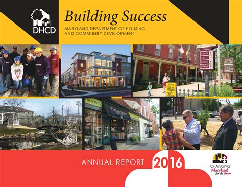 maryland department of housing and community development maryland department of housing and community development releases fiscal year 2016