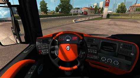 renault truck interior renault magnum interior v1 0 mod euro truck simulator 2 mods