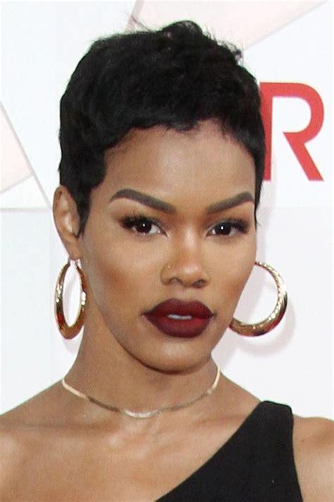 Teyana Hairstyles by Teyana Black Pixie Cut Hairstyle