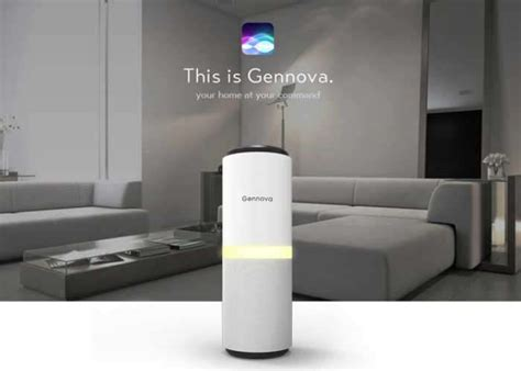 gennova home automation solution is compatible with siri