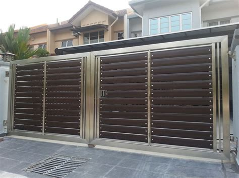 different gate design our stainless steel gate is manufactured and welded by our skilled worker unlike wrought iron