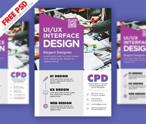 free psd files for ui ux design freebies graphic ui ux design flyer psd freebie