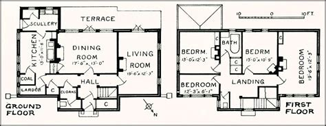 ground and first floor plans ground floor first floor home plan house design ideas
