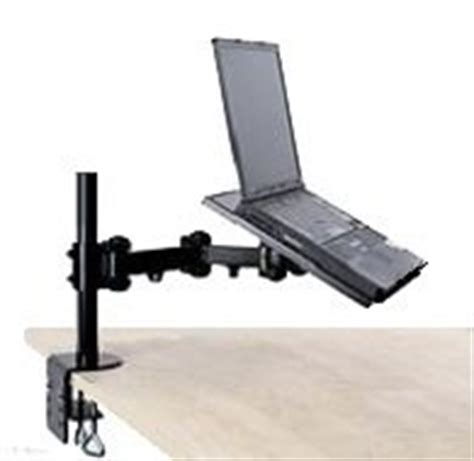 swing arm laptop holder com ezm notebook laptop arm extenstion mount