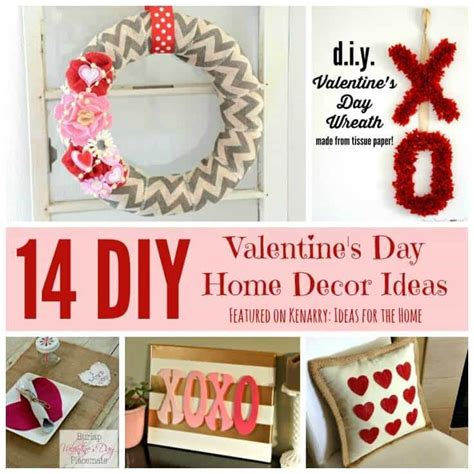 28 day home decor valentines day