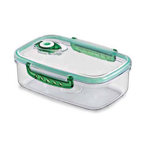 vacuum storage container freshvac pro vacuum food storage container 1 8 c in