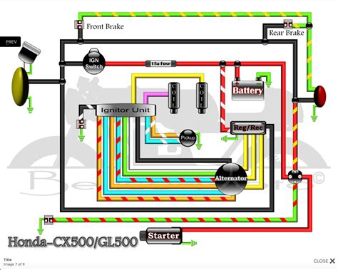 wiring diagram 1982 honda gl500 interstate wiring