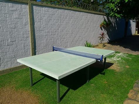 concrete ping pong table outdoor green concrete ping pong table