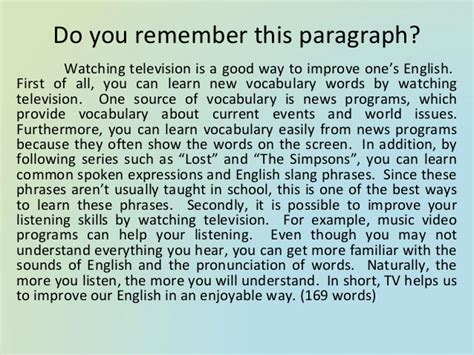 Essay About Television by Essays And Paragraphs In Writefiction581 Web Fc2
