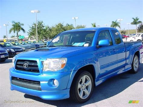 Blue Toyota Tacoma 2007 Toyota Tacoma X Runner In Speedway Blue Pearl Photo