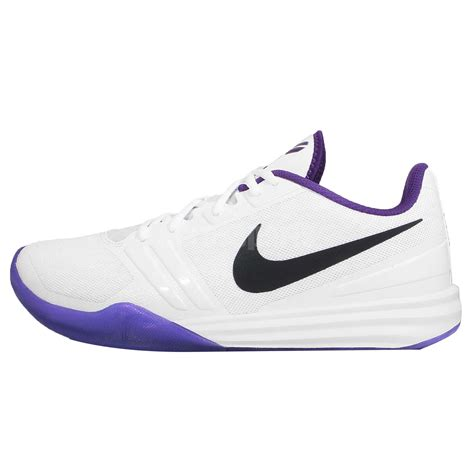 nike basketball shoes purple nike kb mentality bryant white purple home mens