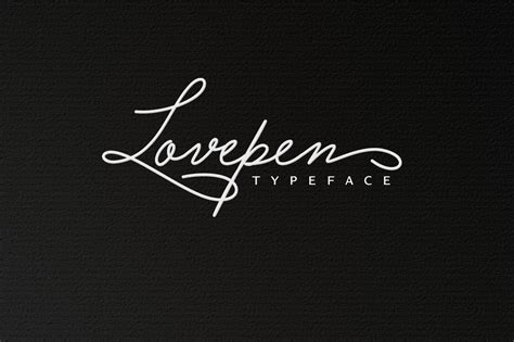 tattoo font signature lovepen kreativ