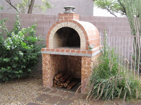 Brick Landscape Design Outdoor Brick Pizza Oven Plans Backyard Brick Oven Plans