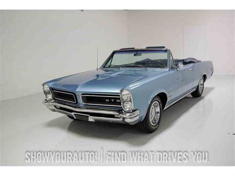 old car manuals online 1965 pontiac gto parking system 1965 pontiac gto for sale classiccars com cc 977202
