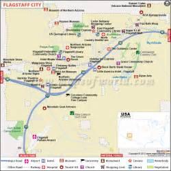 flagstaff arizona map flagstaff map city map of flagstaff arizona