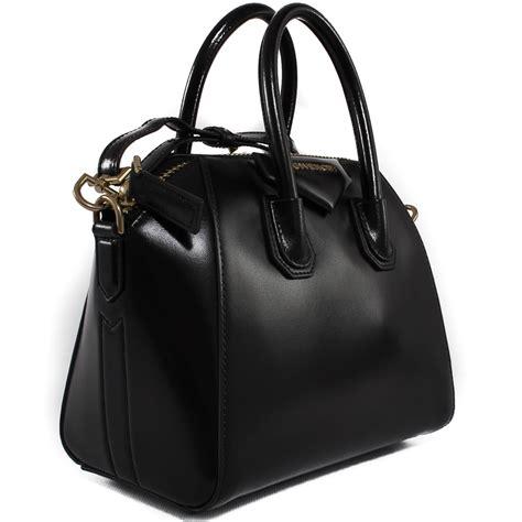 Givenchy Antigona Mini Bag givenchy leather polished black mini quot antigona quot bag in