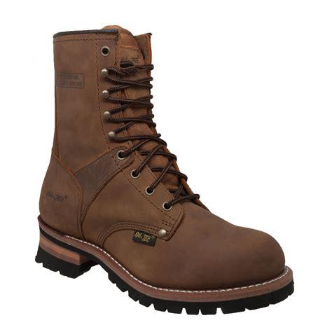 adtec boots adtec s 9 quot logger boots clothing shoes