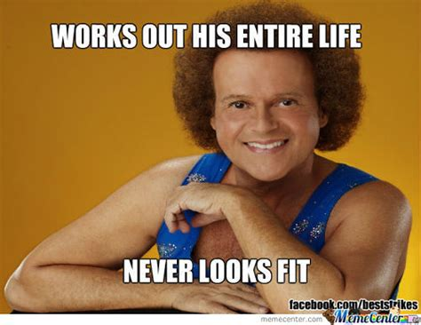 Richard Simmons Memes - fitness memes best collection of funny fitness pictures