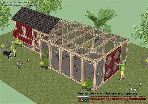 Home Garden Plans Home Garden Plans L101 Chicken Coop Home Garden Design Plan