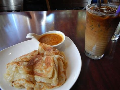 Roti Cappucino roti canai and malaysian iced coffee picture of banana leaf malaysian cuisine vancouver