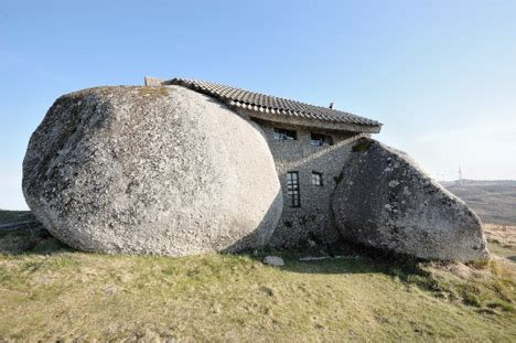 boulder haircut places real life flintstones house made of rocks in portugal