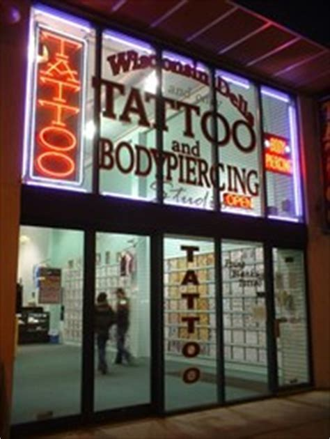 tattoo shops in wisconsin dells point blank ii wisconsin dells shops