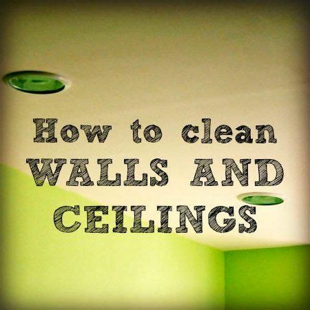 Best Way To Clean Fly Ceilings by 25 Best Ideas About Cleaning Walls On Wash