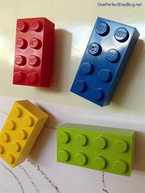 Handmade Fridge Magnets Ideas - diy lego magnets