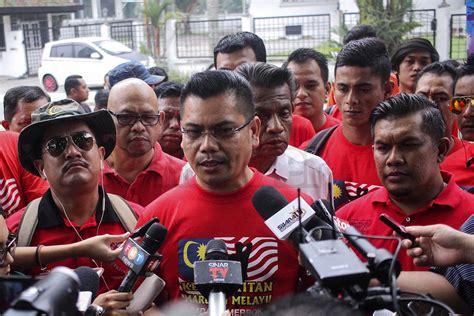 Himpunan Baju Merah cina babi bukan penghinaan kata penganjur himpunan baju merah malaysia stylo