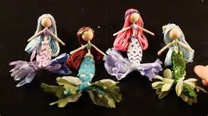 Diy tutorial on how to make mermaid fairy dolls