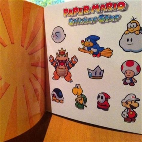 mario official sticker book nintendo books pin by miss waiching liu on nintendo board