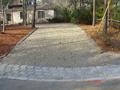 gravel driveway with paver edging google search home design inspiration pinterest