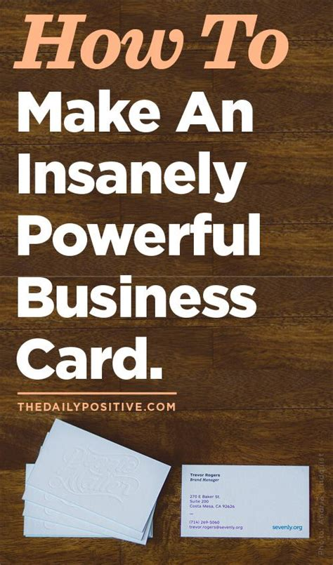 how to make a great business card 17 best images about great business card ideas on