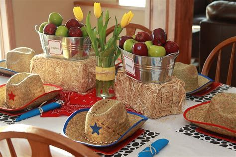 western table decorations western themed centerpieces for tables images western