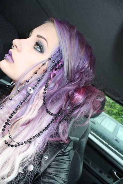the violet hair makeover purple hair colors long hairstyles 2015 long haircuts 2015