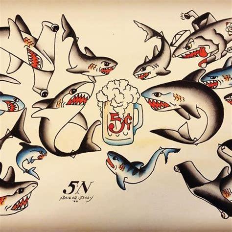 sailor jerry shark tattoo sailor jerry shark designs tattoos sailor